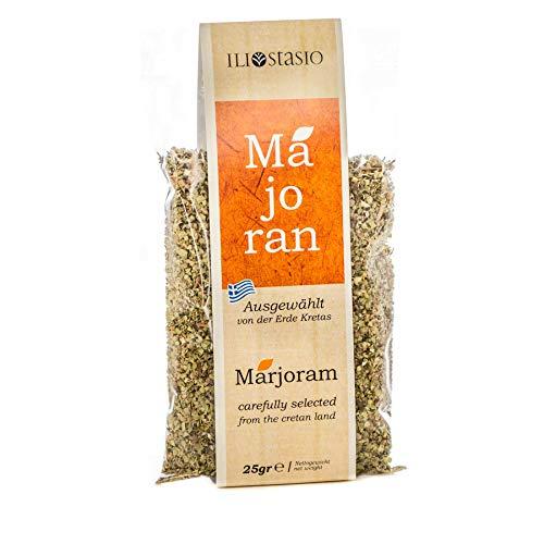 Premium Majoran aus Kreta (Griechenland) - Hochwertige Gewürze - Natürliche Kräuter - Nachfüllpackung