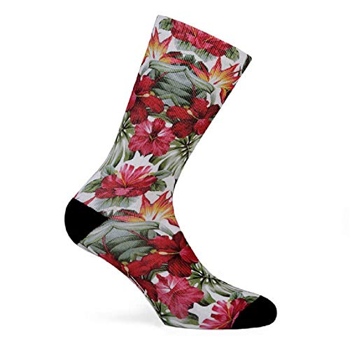 Pacific - Calcetines Guadalupe Mujer Flores - L/XL