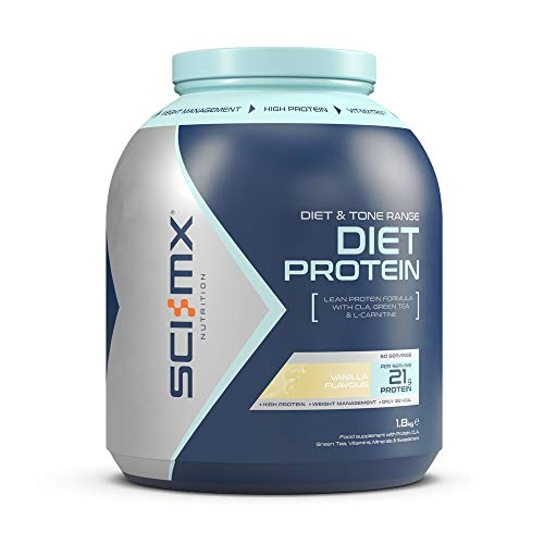 SCI-MX Nutrition Diet Protein Powder, Low Calorie Shake, 1.8 kg, Vanilla, 60 Servings