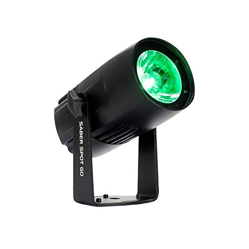 SABER SPOT GO - proiettore led a batteria per palchi, installazioni, negozi e feste