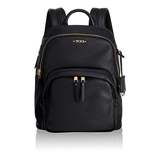 Tumi Voyageur Dori Leather Backpack Rucksack, 33 cm, Black