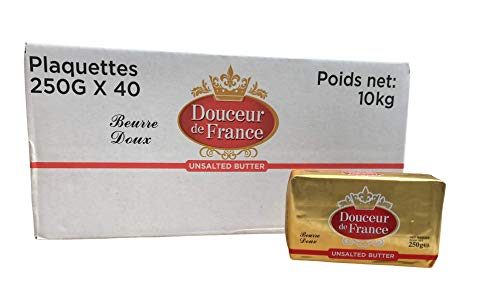 French Unsalted Butter 10 kg (40 x 250 g)