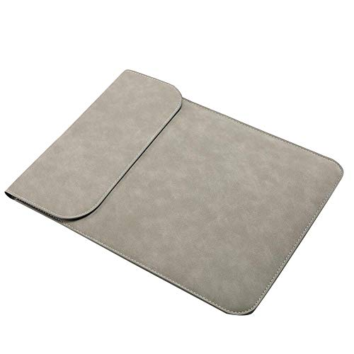 "Funda para Tablet de 10.1""/10.8"",Protector de Tableta de Cuero PU Bolsa de Transporte para Huawei M5 / M6 Gris Claro huawei-M5-10.8inch"