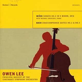 Owen Lee, Principal Double Bass of the Cincinnati Symphony, plays Misek Sonata No.2 and Bach Suites No.3 & No.5