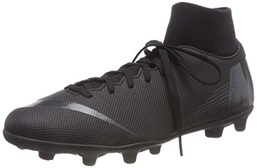Nike Superfly 6 Club FG/MG, Zapatillas de Fútbol Unisex Adulto, Negro (Black/Black 001), 44 EU