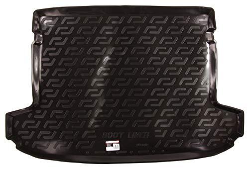 SIXTOL Auto Kofferraumschutz für die Hyundai Tucson III Maßgeschneiderte antirutsch Kofferraumwanne für den sicheren Transport von Einkauf, Gepäck und Haustier
