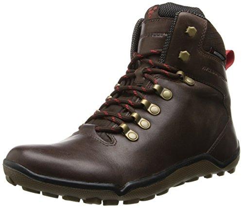 Vivobarefoot Women's Tracker Off-Road Trail Shoe,Dark Brown,35 EU/5 M US