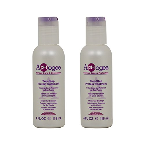 ApHogee Two-Step Protein Treatment 4oz'Pack of 2'