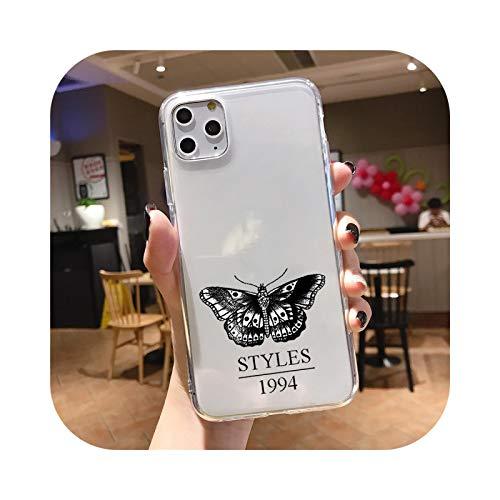 Harry Styles - Funda blanda para iPhone 11 12Mini Pro XS Max XR 7 8 6 Plus