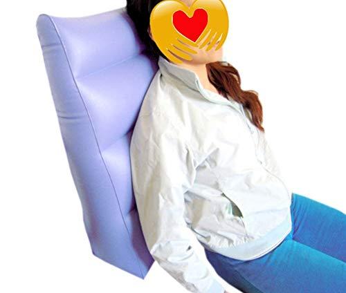 QINAIDI Aufblasbares Anti Dekubitus Kissen/Rollstuhl Anti Dekubitus Kissen für Das hintere Bein Fuß Fersen Hals Bett Patientdrehende Auflage Dreieck ältere Pflegematte