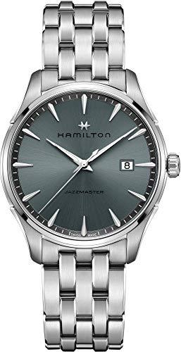 HAMILTON JAZZMASTER Gent Quartz Acero Reloj para Hombres H32451142