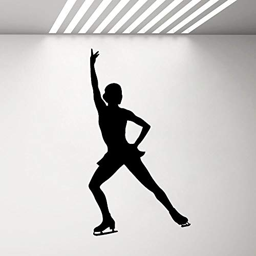 Yaonuli Meisjes Skating Mall Sticker Girl Room Sport Skater Silhouet Vinyl Home Decor Slaapkamer Art