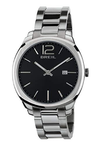 Breil Reloj Analógico para Hombre de Cuarzo con Correa en Acero Inoxidable TW1713