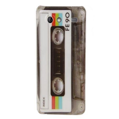 Unbekannt Hardcase/Hülle Samsung Galaxy S Advance i9070 Cassette Musik-Kassette Schutzhülle Case Back Cover Schale Vintage