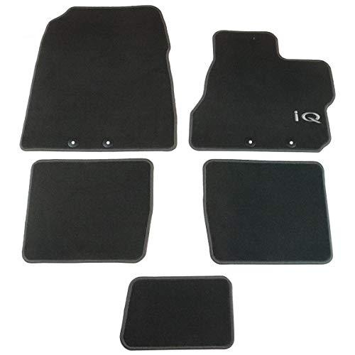 TOYOTA Genuine iQ 5x Carpet Floor Mats 520g (2008-2012) Anthracite PZ410I0353FF