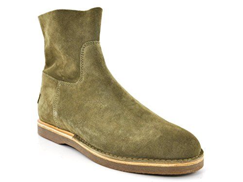 Shabbies Amsterdam Stiefel Suede Taupe 40