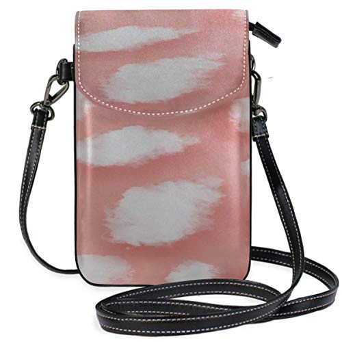 Lawenp Leather Phone Purse Organizer Colorfulstylish Cute Art Painting Print Wallet Purse Crossbody Phone Bag Wallet Purse Wallet Travel Passport Bag Handbags For Women