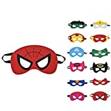 Willingood 12 x Kinder Masken | Super Masken | | Augen Masken | | Mitgebsel | Kindergeburstagen |...