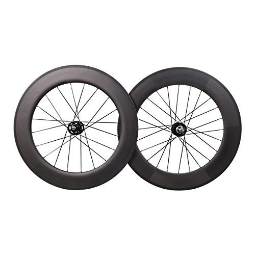ICAN Carbon Track Wheelset with Fixed Gear