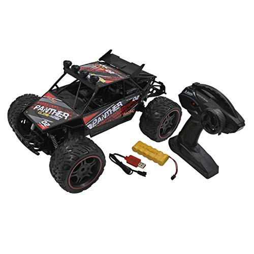 Lowral RC coche modelo juguete, escala 1/10 4WD 2.4GHz control remoto de alta velocidad Racing coche