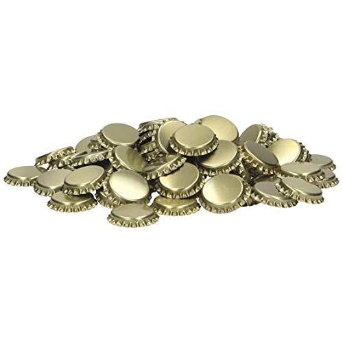 Brewferm Coronas de corcho – Cerrar botellas reutilizables – 1000 unidades oro – chapas