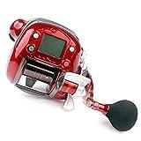 N/A NA Olympus ecooda Carrete eléctrico de Pesca de 7000lb Barco de Pesca Carrete de Pesca Agua Salada océano Carrete de Pesca, Mano Derecha roja, Mano Derecha