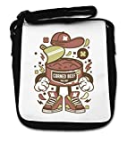 Corned Beef Survival Food Stock Graphic Small Shoulder Bag