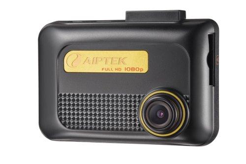 Aiptek X3 Auto-Kamera (6 cm (2,4 Zoll) Display, Full HD, SD/SDHC-Kartenslot, Weitwinkelobjektiv, G- Sensor) schwarz