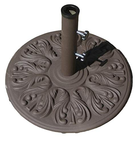 Galtech 75 LB Euro Deco Market Umbrella Base (Antique Bronze Finish)