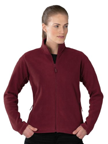 Russell Collection Fleece-Jacke R-870F-0, Farbe:Burgundy;Größe:L L,Burgundy