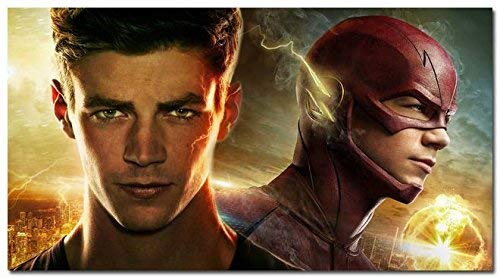Daaint baby The Flash Barry Allen TV Series Silk Fabric Poster 24 * 36inch 006