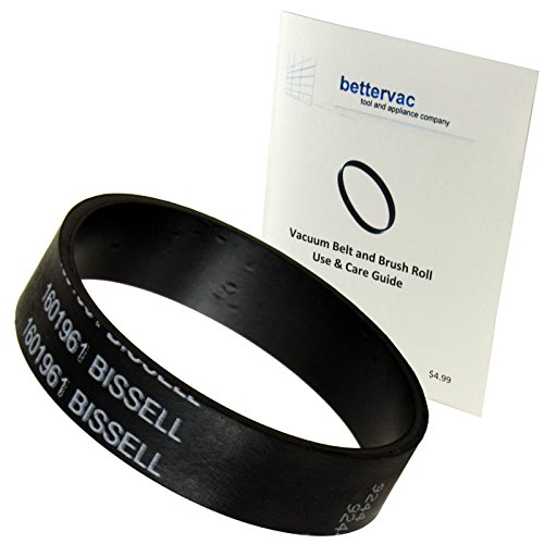 Bissell PowerGlide & PowerGlide Lift-Off Pet Vacuum Belt #1601961 Bundled With Use And Care Guide