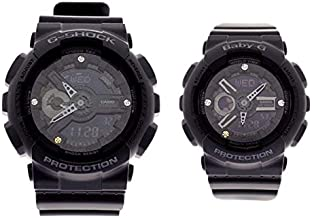 カシオ CASIO 腕時計 メンズ レディース LOV-18C-1AJR Gプレゼンツ ラバーズコレクション G PRESENTS LOVER'S COLLECTION クォーツ ブラック [並行輸入品]