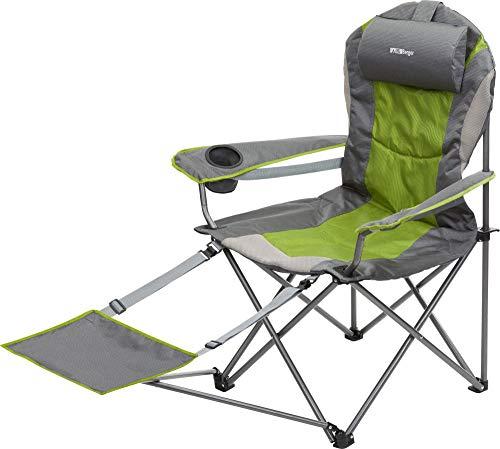BERGER Faltsessel Tripoli Campingstuhl Stuhl Beinauflage Faltstuhl Camping Festival