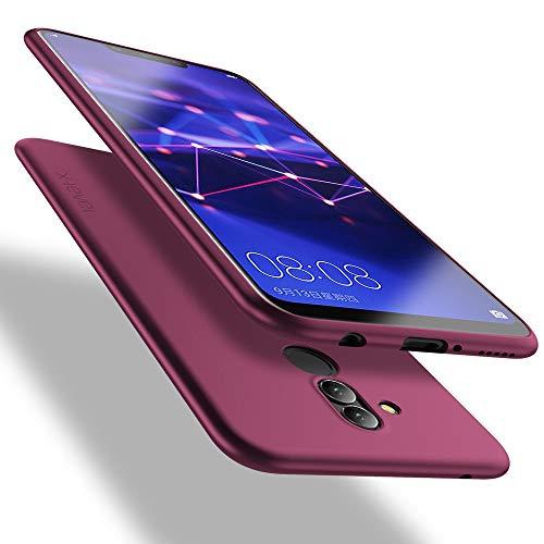 X-level Cover Huawei Mate 20 Lite, [Guardian Series] Ultra Sottile e Morbido TPU Protettiva Custodia Silicone Rubber Protezione Cover per Huawei Mate 20 Lite, Vino Rosso