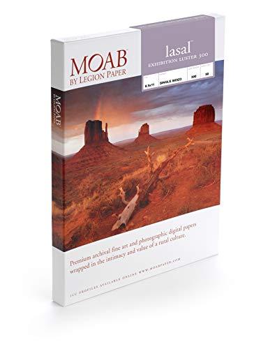 Moab Lasal Exhibition Luster 300 g/m2, A5, 50 Blatt, hochwertiges Fotopapier für Tintenstrahldrucker