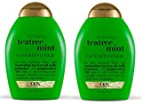 OGX Hydrating Tea Tree Mint Conditioner - 385ml Pack of 2