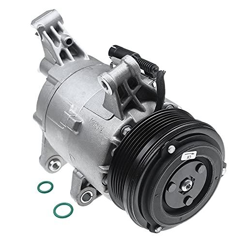 Compresor de aire acondicionado con junta para M-i-n-i C-o-p-e-r S One R50 R52 R53 1.6L gasolina 2001-2007 64521171210