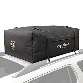Rightline Gear Range 3 Car Top Carrier 18 cu ft Weatherproof + Attaches With or Without Roof Rack