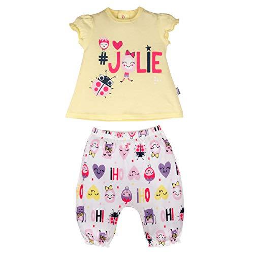 Ensemble bébé fille t-shirt + sarouel Jolie - Taille - 9 mois (74 cm)