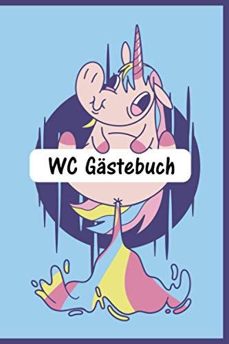 WC Gästebuch: Klo Gästebuch I Geschenkidee für Freunde und Familie I Geschenk zur Einweihung,...
