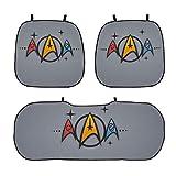 HJFRDVBNT Star Trek Coussin de glace 3 pièces 2 coussins de siège avant + 1 coussin de siège arrière pour voiture