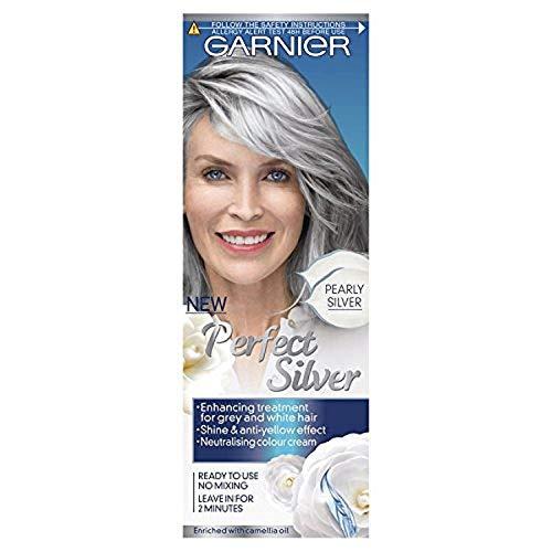 Garnier perfekt Silber Grau Haar neutralisiert creme silber
