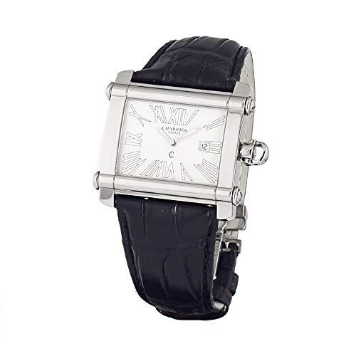 Armbanduhr PHILIPPE CHARRIOL Edelstahl weiß schwarz Herren