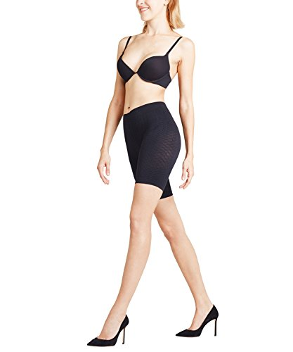 FALKE Damen Panty Cellulite Control, Blickdicht, Matt, 1 Stück, Schwarz (Black 3009), Größe: XL