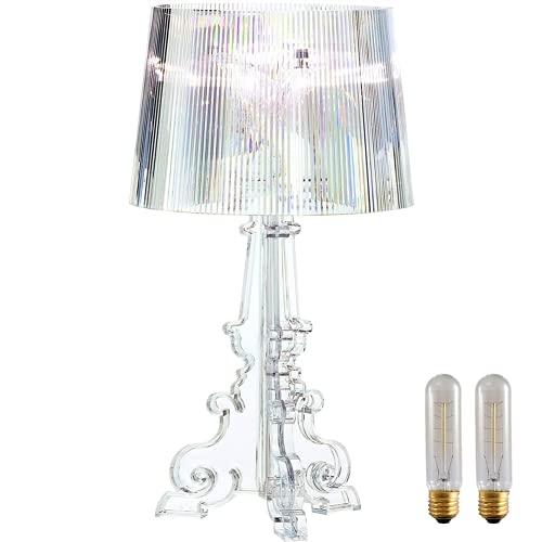 Yozeka Lámpara de escritorio LED Bourgie de 20 pulgadas, lámpara de mesa...