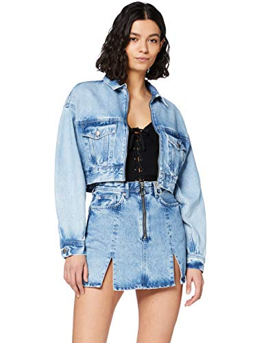 Pepe Jeans Emilia Falda, Azul (Denim 000), X-Small para Mujer