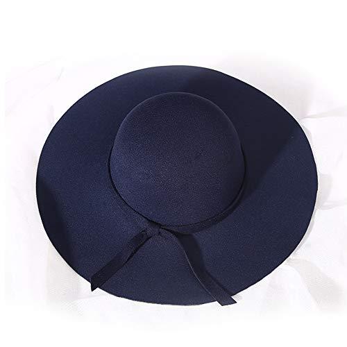 LINBUDAO Zonnehoed strohoed gebreide muts dames losse zonwering zonnescherm platte hoed zonnehoed