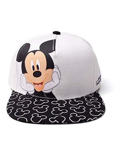 Mickey Mouse SB045624MCK Gorra de béisbol, Multicolor, One Size Unisex Adulto
