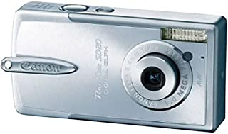 Canon Powershot SD20 5MP Ultra Compact Digital Camera (Silver)